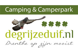 Logo camping de grijze duif 2020